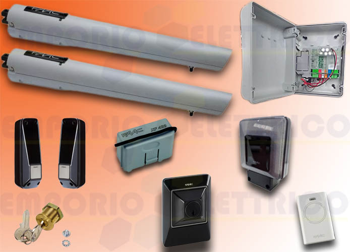 faac automation kit 24v dc handy kit safe 105998
