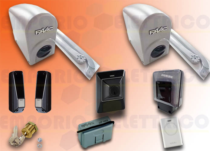 faac kit automazione energy 24v dc energy kit safe 104575