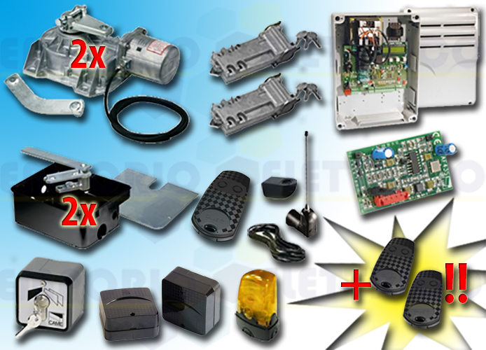 came kit automation 001frog-a frog-a 230v type 2