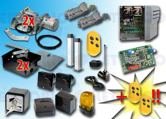 came kit automation 001frog-a24e frog-a24e 24v type 3D