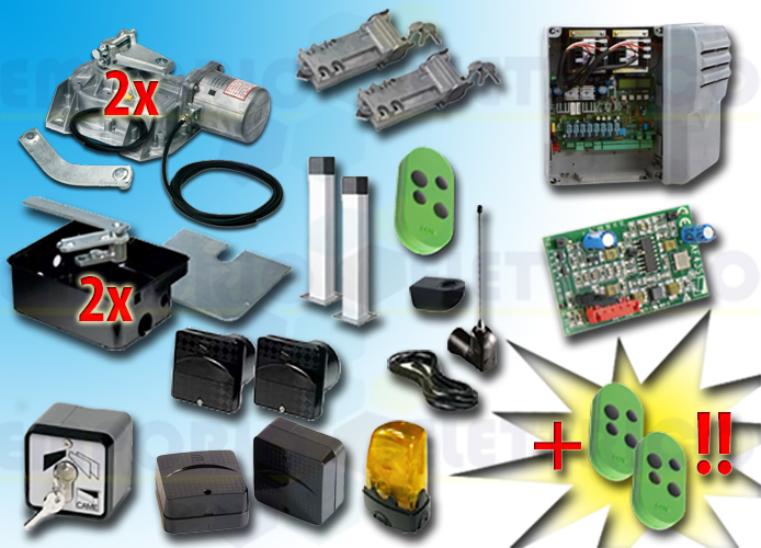 came kit automation 001frog-a24e frog-a24e 24v type 3E