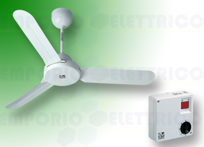 vortice kit ventilatore soffitto nordik design is 120/48