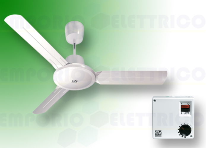 vortice white ceiling fan kit nordik evolution r 160/60 61753 ev61753a